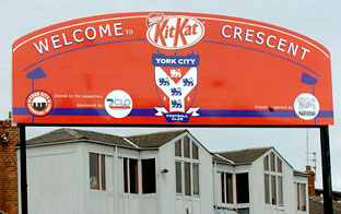 Nestlé's backing of York City is to be wrapped up