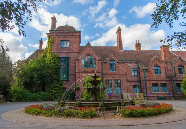FRONT OF HOUSE: The four star Aldwark Manor is under new ownership