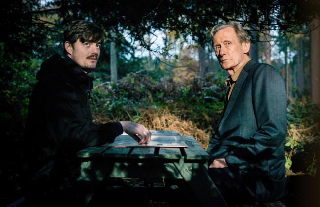WORD GAMES: Sam Riley and Bill Nighy in Sometimes Always Never