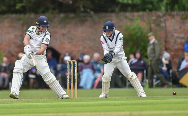 Gary Ballance in action for Yorkshire against Warwickshire at York's Clifton Park. Picture: Ray Spencer