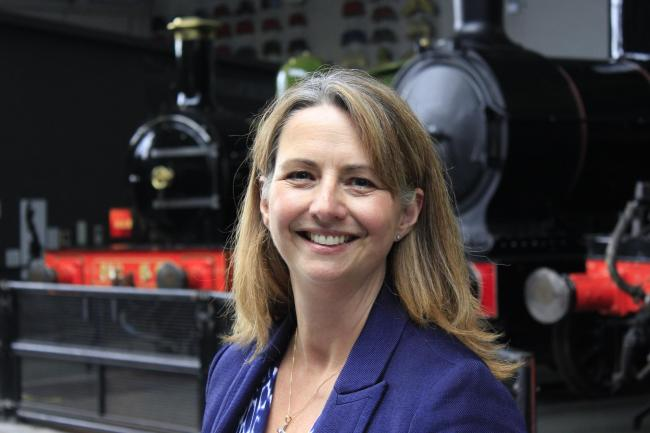 Julie Moody, who has been appointed to lead a £50m fundraisign campaign at the National Railway Museum