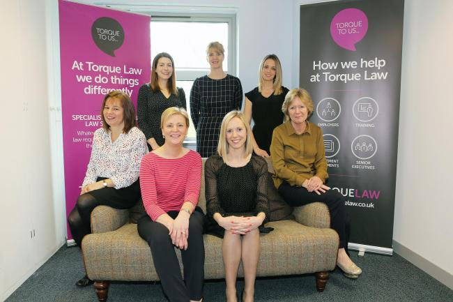 GROWTH: The Torque Law team have added to their number