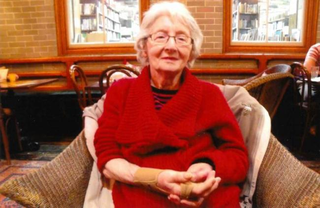 POPULAR: Former confectionary shop manager Joyce Cottom