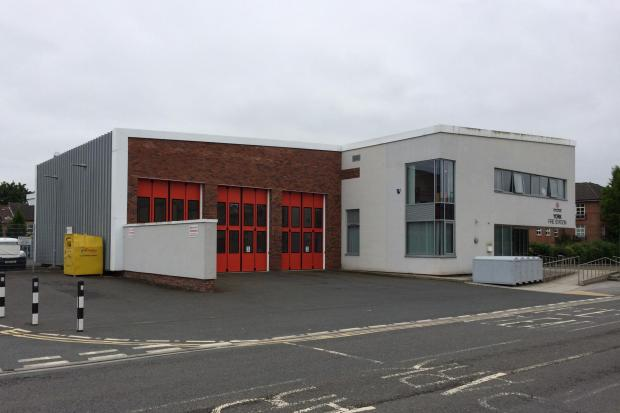 York fire station, which was closed all day on Tuesday