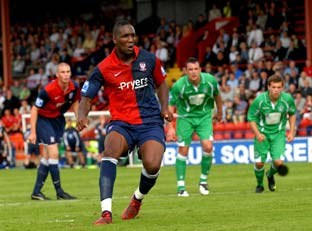 York City 2; Forest Green 0