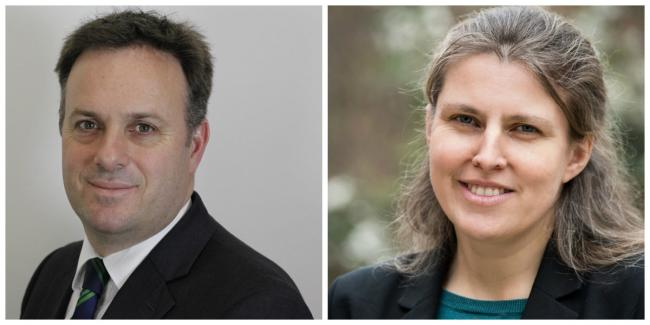 MPs Julian Sturdy and Rachael Maskell