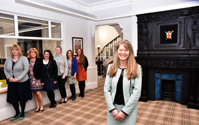 FLASHBACK: York Register Office reopens following a £130,000 refurbishment, with Amanda Sykes, superintendent registrar and the team Picture: Frank Dwyer