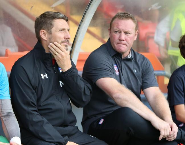 York City assistant manager Micky Cummins has lauded the options available to him and manager Steve Watson in the Minstermen's squad. Picture: Gordon Clayton
