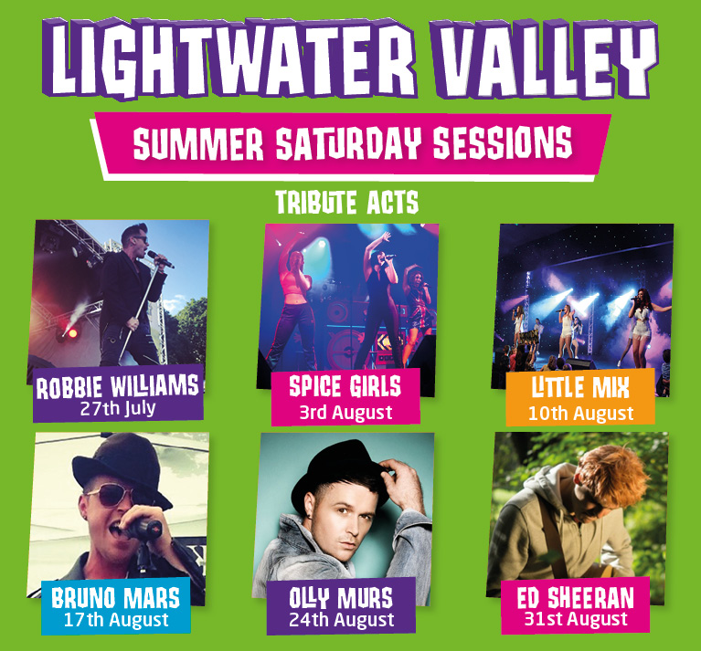 Summer Saturday Sessions at Lightwater Valley