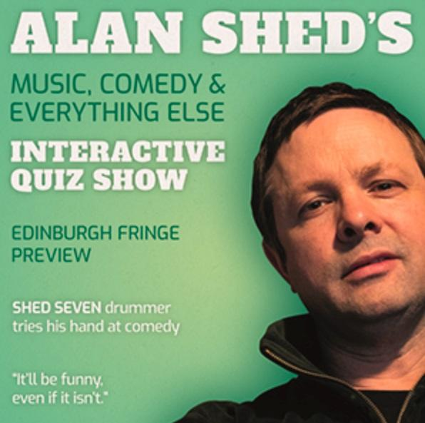 "Review: Alan Shed's ""Music, Comedy and Everything Else"" Interactive Quiz Show"