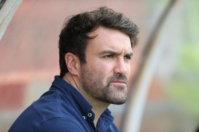 York City Knights coach James Ford. Picture: Gordon Clayton