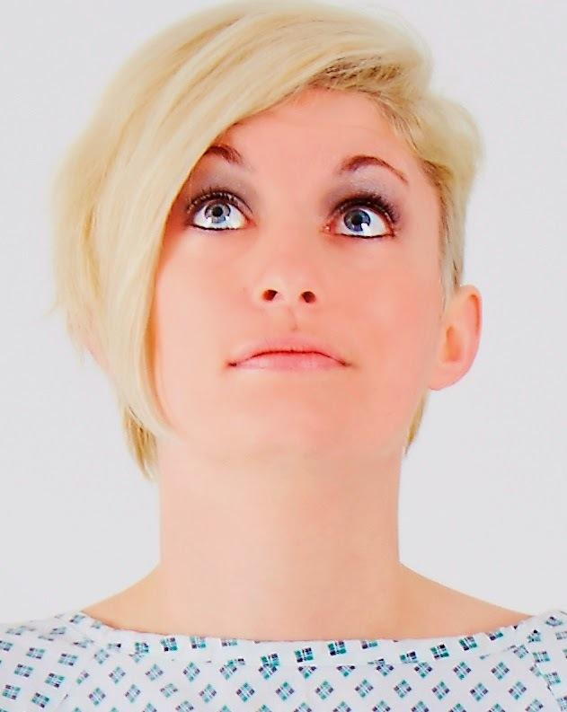 CATACOMB OF CHAOS: Harriet Dyer in The Dinosaur Show at the Great Yorkshire Fringe