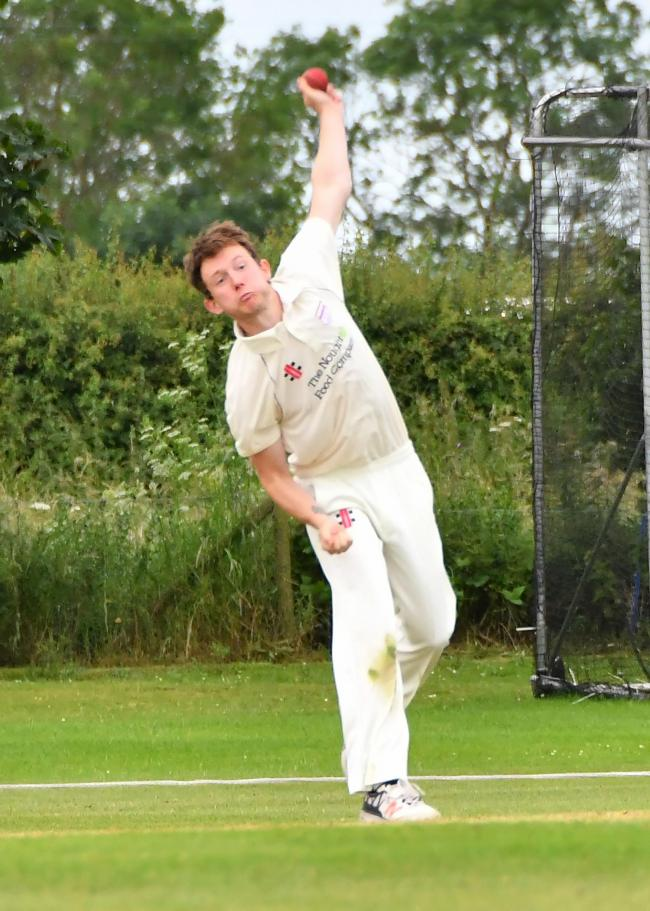 Sheriff Hutton Bridge bowler Ben Harrison starred with the bat against Clifton Alliance, his 18 not out helped his side clinch the Pilmoor Evening League title