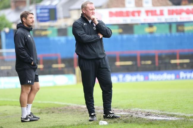 York City manager Steve Watson is looking for a greater boost from the stands at Bootham Crescent. Picture: Gordon Clayton