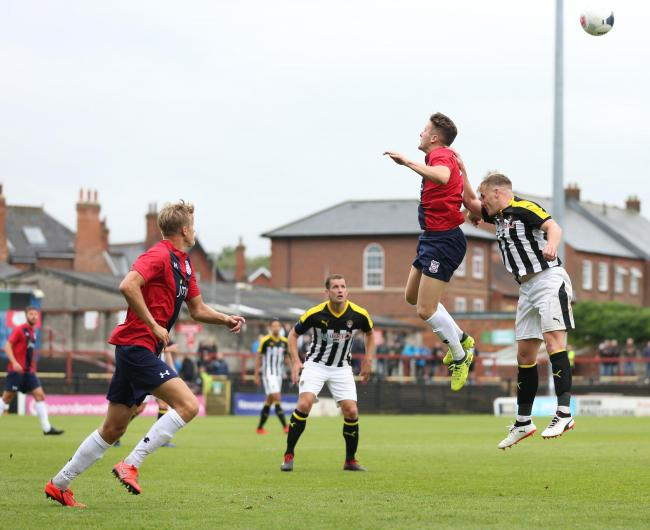 Macaulay Langstaff, who is one of the few York City players from the Notts County game likely to feature tonight at Pickering Town. Picture: Gordon Clayton