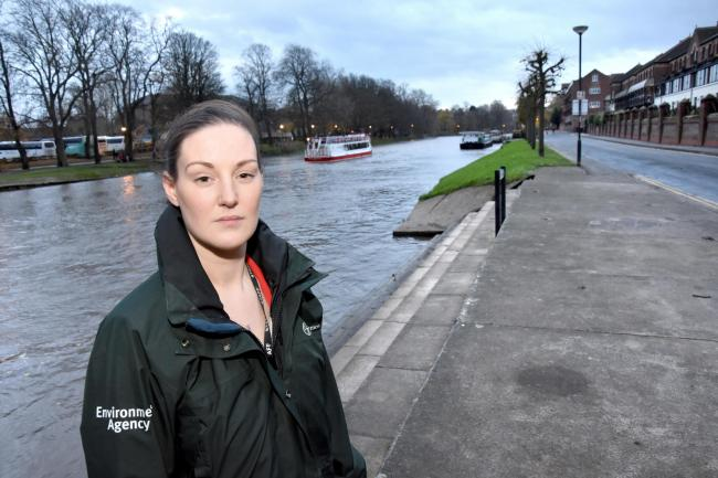 Vikki McCausland, , project manager for the Clementhorpe flood defence scheme, which will now iinvolve Terry Avenue being closed to cyclists and pedestrians   Picture Frank Dwyer