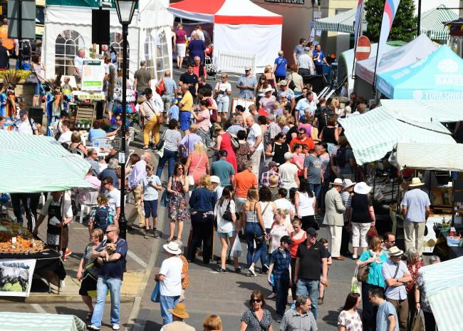 Malton monthly food market cancelled due to bad weather