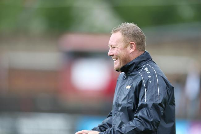 Steve Watson is pleased with another clean sheet for York City. Picture: Gordon Clayton
