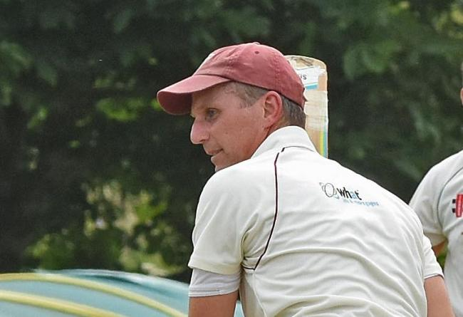 Sheriff Hutton Bridge batsman Paul Oldfield made 49 against Whitkirk