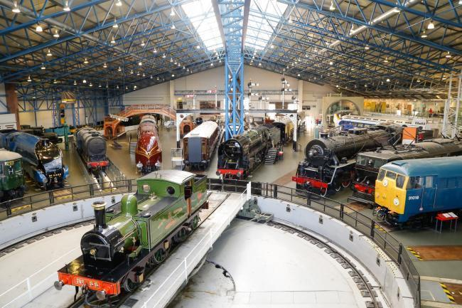 DISPUTE: The Great Hall at the National Railway Museum, York