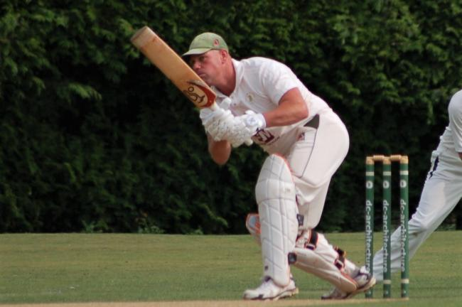 Clifton Alliance captain Jason Gatus was in the runs again in the HPH York Vale League