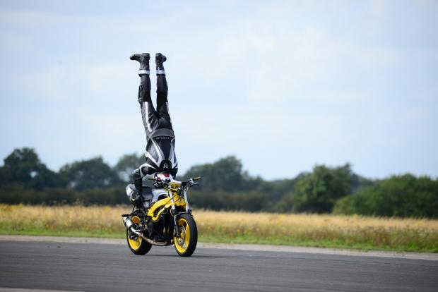 York Press: Marco George hit 76mph during his world record attempt in North Yorkshire (Harvey Brewster/PA)