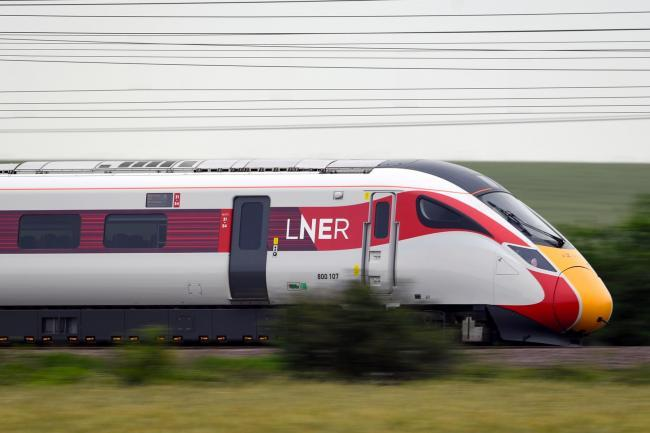 LNER services will be disrupted over the bank holiday weekend (Joe Giddens/PA)
