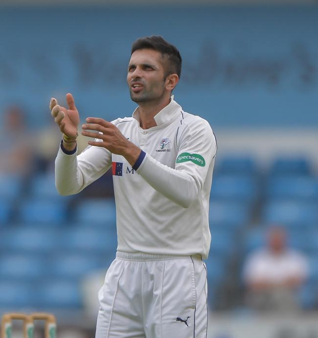 Keshav Maharaj is returning to Yorkshire  Picture: RAY SPENCER
