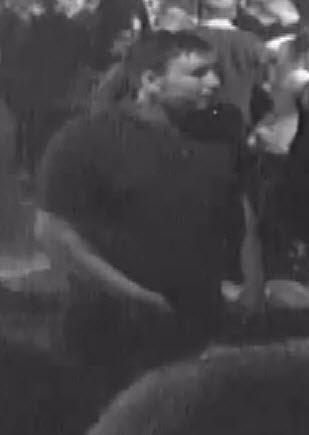Police want to speak to this man in connection with the assault