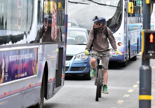 Leave plenty of room form cyclists on busy roads, says Paul Hepworth