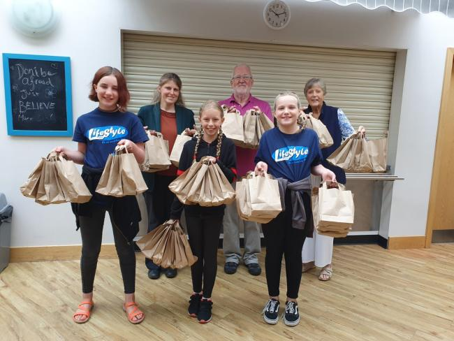 Inspirational Youngsters Support York Foodbank York Press