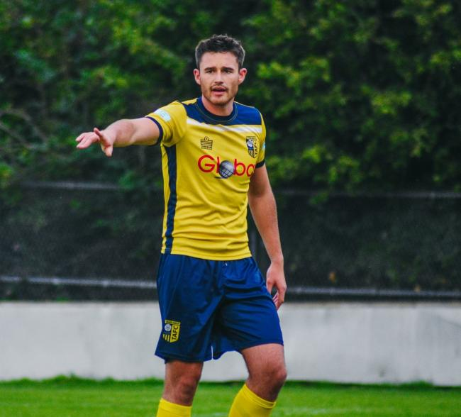 Tadcaster Albion defender Ioan Evans. Picture: Matthew Appleby