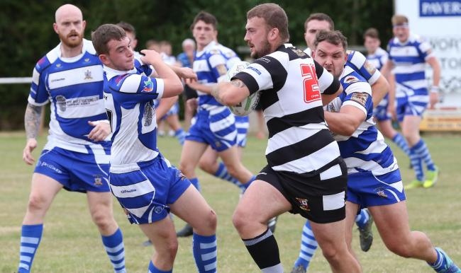 Heworth try scorer Joe Deighton