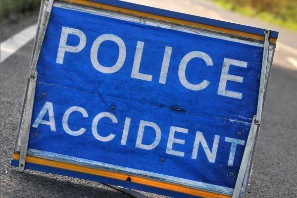 A man was taken to hospital after a crash on the A64 near Malton this morning