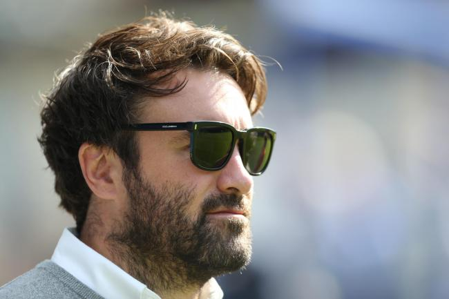 York City Knights coach James Ford at the Halifax game last Sunday. Picture: Gordon Clayton