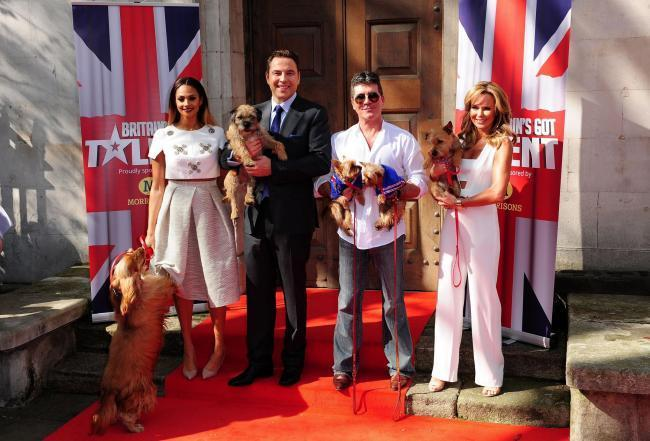 Alesha Dixon, David Walliams, Simon Cowell and Amanda Holden, from Britain's Got Talent   Picture: Ian West/PA Wire