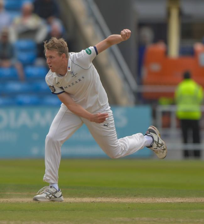 Steve Patterson expressed his disappointment after Yorkshire were trounced by Kent  Picture: RAY SPENCER