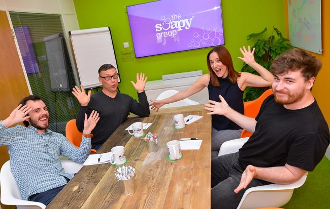 "The Soapy Group aims to become York's biggest ""little"" agency"