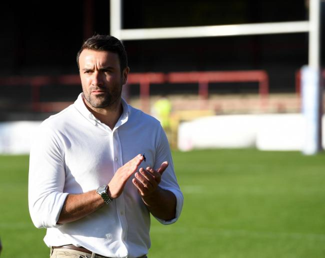 York City Knights head coach James Ford is pleased with how pre-season training is progressing. Picture: John Rushworth/GCSPix