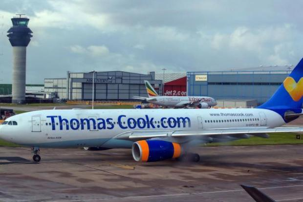 Thomas Cook planes have been grounded after it collapsed into administration (Peter Byrne/PA)