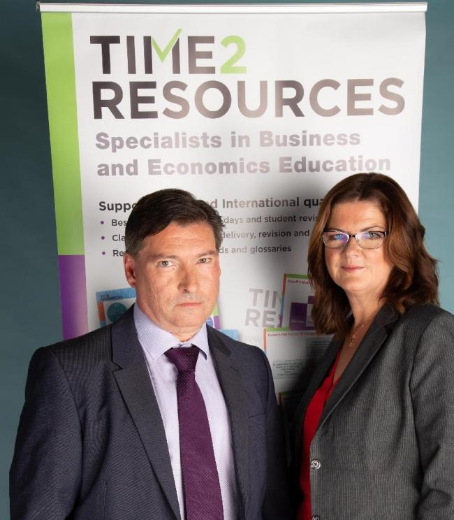Carlo Mencattelli and Helen Coupland-Smith, directors of Time2Resources Ltd