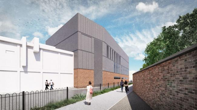 The extension planned at York Hospital. Image: Planning application