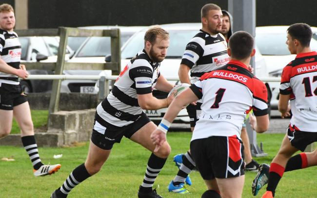 Heworth stalwart George Elliott was among the try-scorers in the 68-16 play-off semi-final defeat of Drighlington last week. Picture: David Harrison