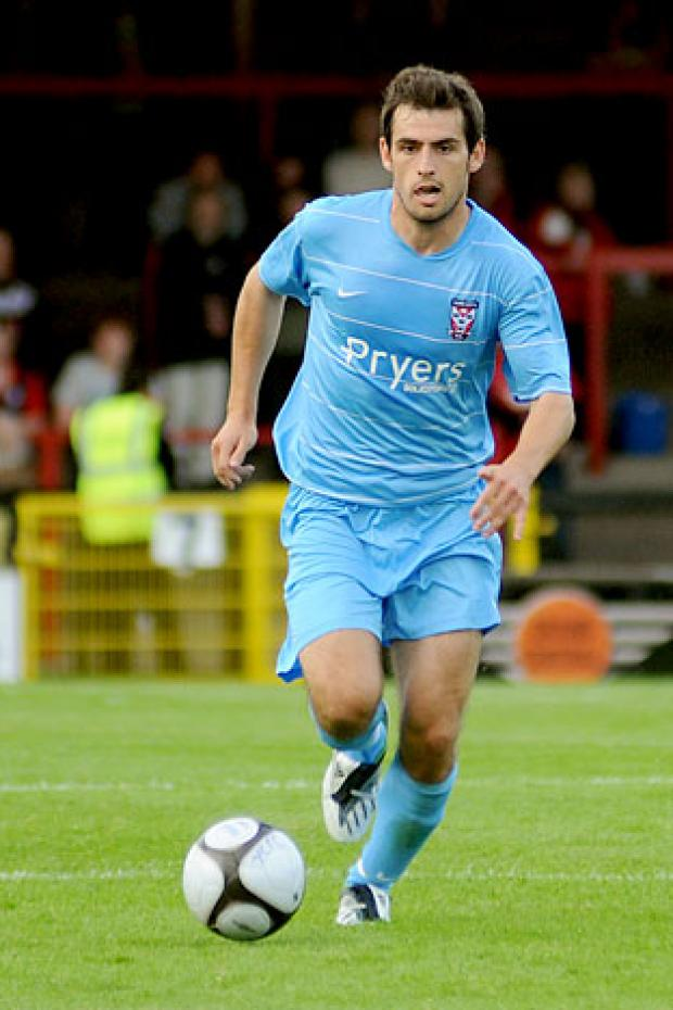 York City  midfielder Alex Lawless