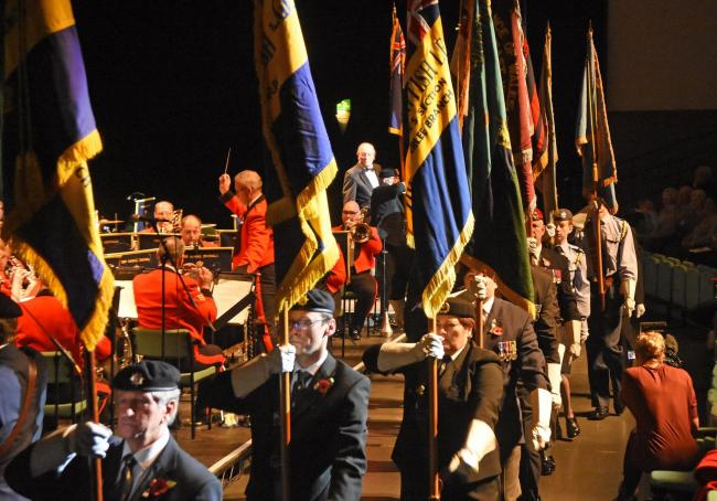 The standards march in at a previous York Festival of Remembrance held at York Barbican  Picture: David Harrison