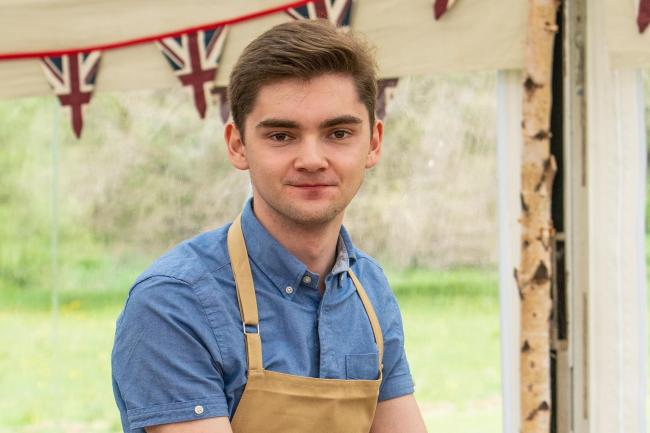 Henry from The Great British Bake Off