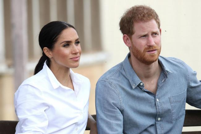 The Duke and Duchess of Sussex. The Duke has attacked the British tabloid press for a