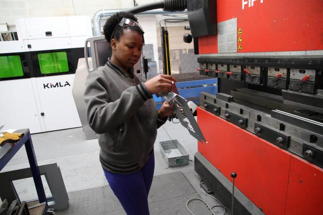 Engineering student Kundai Moyo took up a work placement at 10 Squared Ltd, Pocklington, to give her valuable industry experience