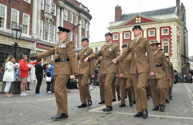 Fresh proposals will work on support for the Armed Forces in York                                                                                         Picture: David Harrison