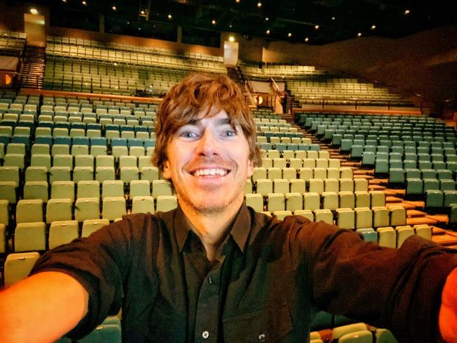 Simon Reeve was at York Barbican